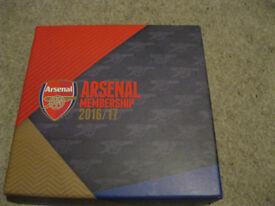 Arsenal Membership Pack 2016/17