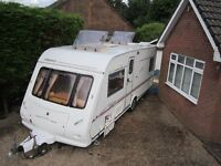 * ELDDIS ODYSSEY *FIXED BED * 4 BERTH TOURING CARAVAN * WATCH THE VIDEO* 2004 *