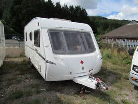Abbey Vogue 495 4 Berth Fixed Bed 2007