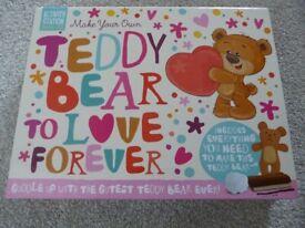 Brand New Make your own Teddy Bear Set