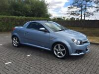VAUXHALL TIGRA SPORT 2005 CONVERTIBLE. FULL LEATHER.