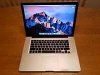 Macbook Pro 15, 2011, i7 2.2Ghz, 4GB Ram, 750GB HDD, AMD HD 6750M