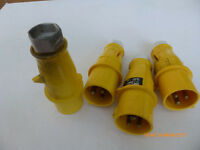 110 Volt Power Plugs (for On Site Transformers)