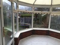 Conservatory. 3.5m X 3m. Will be dismantled but needs collecting on 16th December.