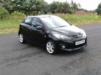 2010 MAZDA2 1.3TAKUYA 5 DOOR 12 MONTHS M.O.T 6 MONTHS WARRANTY (FINANCE AVAILABLE)