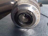 Pentax FA 80-320mm 1:4.5-5.6 zoom lens, body a bit worn but lens in prime condition plus lens caps.