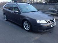 2006 06reg Saab 9-3 1.9 Vector Sport Automatic Top Spec Grey
