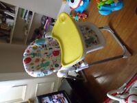 Mamas & Papas Pesto Highchair