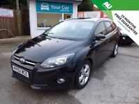 Ford Focus 1.6TDCi ( 115ps ) 2012 Zetec Black Estate