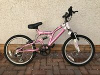 "Girls 18 "" inch bike"