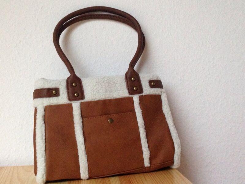 braune handtasche in th ringen erfurt ebay kleinanzeigen. Black Bedroom Furniture Sets. Home Design Ideas