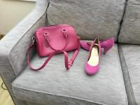 Handbag and office shoes