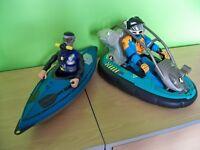 Action Man & Canoe Set.