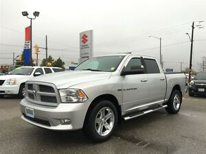 2011 Dodge Ram 1500 Sport 4X4 Crew ~P/H/C/Leather ~Backup Camera