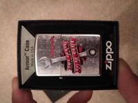 Collectable snap on zippo