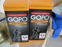 GOPO health capsules idea for arthritis 2 boxes by 400 capsules