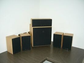 Wharfedale Surround Sound Speaker System (including SubWoofer)