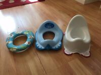 Potty training set. 3 products.