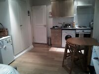 Double Ground Floor Studio, Excellent Decorative Order £215PW inc gas & water in Kilburn