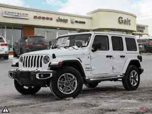 2019 Jeep Wrangler Unlimited SAHARA 4X4   LEATHER COLD WEATHER G