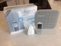 Angelcare ultimate AC1100 breathing movement monitor with video abd 2 way sound