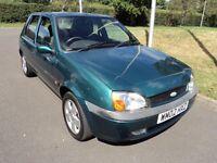 superb 02'ford fiesta 5' door 12' months mot drives superb