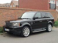 Land Rover Range Rover SPORT 2.7 TDV6 HSE Auto (2007/57 Reg) + JAVA BLACK + FSH + STORMER WHEELS +