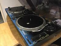 2x Citronic Direct Drive PD-1s (+mixer optional) turntables DJ