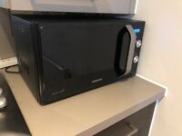 Samsung 800W Standard Microwave MS23F301EAK - Black