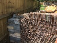 Free roof tiles - some used some brand new