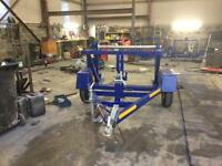 Cable drum trailers for sale