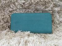 Turquoise blue Purse