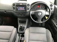 2006 VW GOLF PLUS 2.0 GT TDI ,FULL MOT, JUST SERVICED,DVD/DAB/BLUETOOTH TRADE...