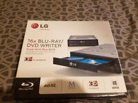 LG Blu ray/dvd writer