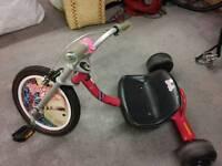 razor drift Barbie trike