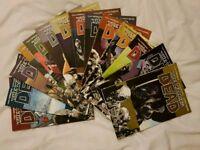 Walking dead graphic novels 1-14