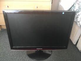 """SAMSUNG 22"""" LCD 1080p TV w/REMOTE"""