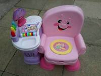 Fisher Price Learning Activity Chair