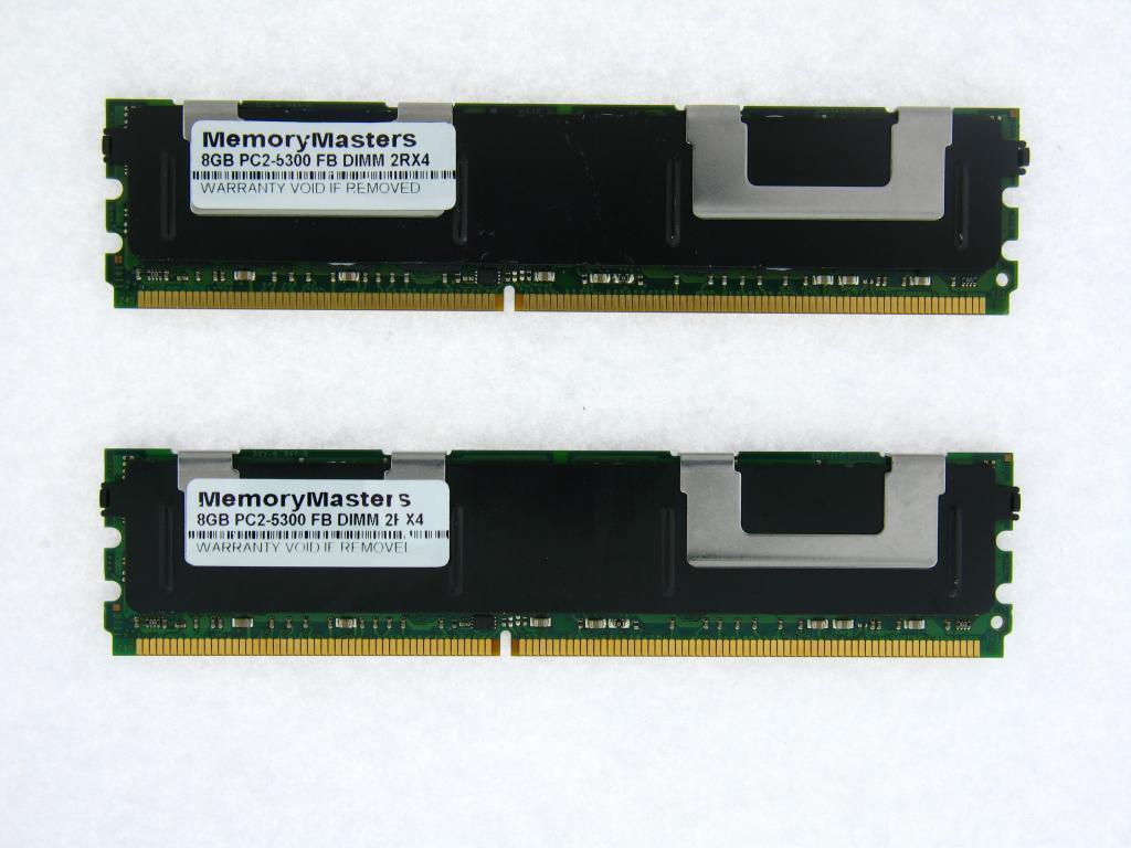 16GB 4X4GB KIT IBM System x3400 x3450 x3500 x3550 x3650 FBDIMM 5300 RAM MEMORY