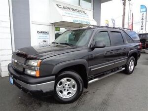 2006 Chevrolet Avalanche LT Z71 4x4, Leather, Sunroof, DVD