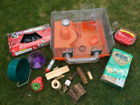 Hamster Cage, Accessories, Hamster Trac