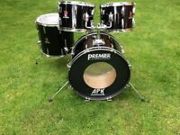 Drums - Vintage Premier Drum - Early 80's - Good For Beginners / Practise / Rehearsal / Gigs