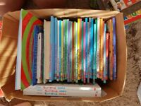 A large collection of disney books