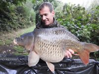 Redmill Carp France. Brittany Lake Winter Works