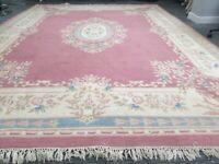 Vintage Wool Pre-Owned Rugs Chinese Peking 278 x 370 cm