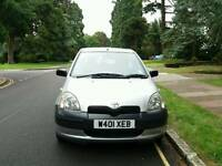 TOYOTA YARIS 1.0L ONLY 390000WARRANTED MILE 1 OWNER 10SERVICE MOT TILL26/6/2018 HPI CLEAR