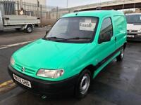 52 CITROEN BERLINGO VAN EX PARTS COMPANY VAN VERY TIDY SUPERB DRIVE EXCEPTION...