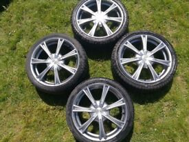 17inch wolfrace alloys