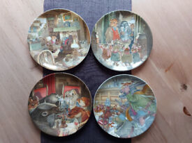 Wind in The Willows Plates