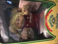 2 unopened cabbage patch dolls from 1984